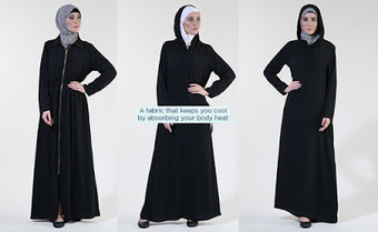3 Reasons Why Zipper Abayas Are the Coolest Thing in the Market Now | Islamic Clothes Online | Scoop.it