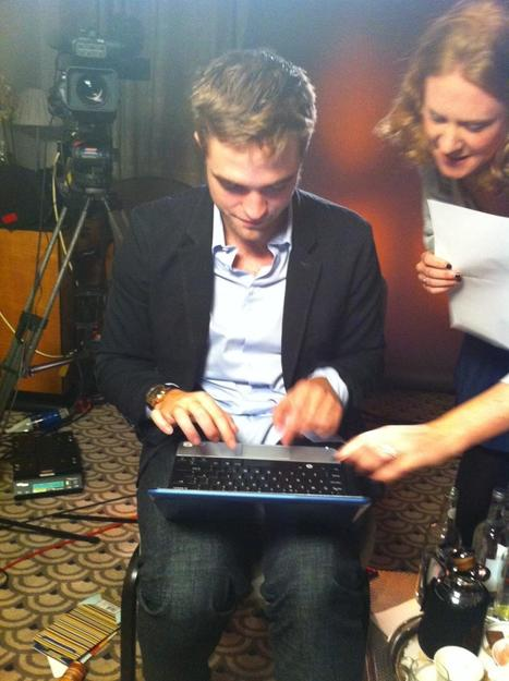 Glamour UK: Robert Pattinson Twitter Q&A Interview, London BD2 | Robert Pattinson Daily News, Photo, Video & Fan Art | Scoop.it