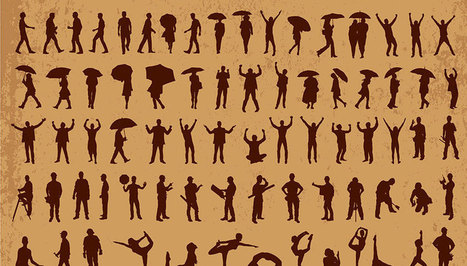 Free Download: 600+ Free Vector Silhouettes | Free Resources for Designer | Scoop.it