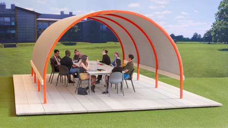Why Aren't We All Working In Outdoor Offices Like These? | Workspaces | Scoop.it