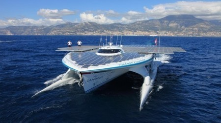 World's largest solar-powered boat returns to the oceans in the name of science | GizMag.com | The educational synapse | Scoop.it
