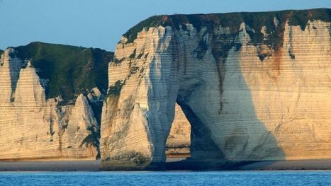 Les falaises d'Étretat, Grand Site de France - Le Figaro | Revue de Web par ClC | Scoop.it