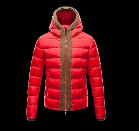 Moncler Uomini Giacca Canut Rosso Vendesi Online   SHARES   Scoop.it