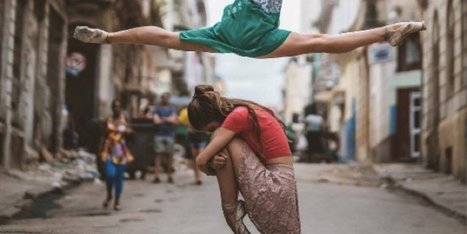 Breathtaking Photos Capture Cuba's Legendary Ballerinas Dancing In The Streets | Beauty, Fashion & Photography | Scoop.it