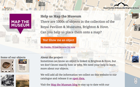 Map the Museum: An Experiment in Crowdsourcing | Libraries & Museums | Scoop.it