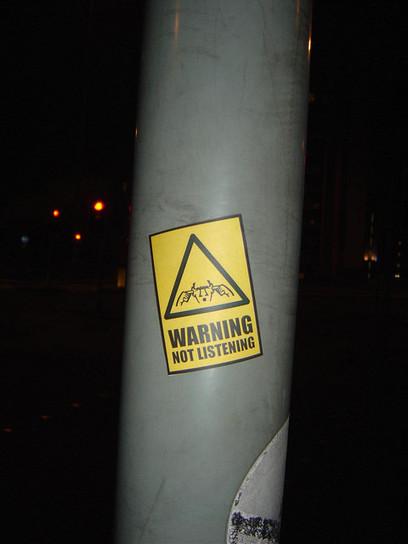 Not listening | DESARTSONNANTS - CRÉATION SONORE ET ENVIRONNEMENT - ENVIRONMENTAL SOUND ART - PAYSAGES ET ECOLOGIE SONORE | Scoop.it