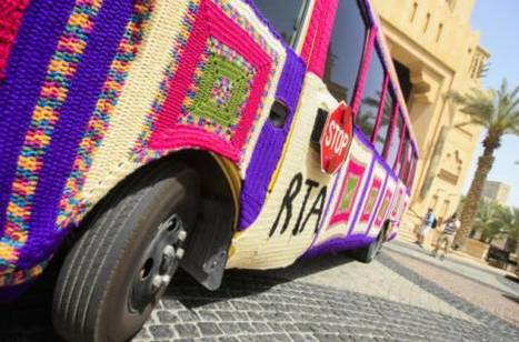 A spectacle at Urban Knitting festival in Dubai | feminismo | Scoop.it
