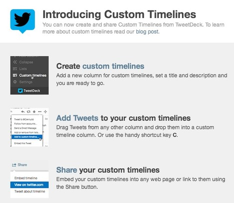 Curate Topic-Specific News Channels on Twitter with Custom Timelines | The Social Web | Scoop.it