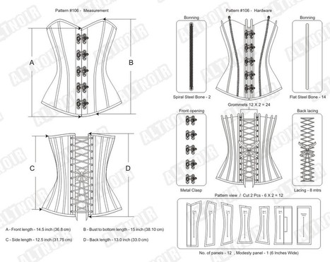 How underbust corsets are suitable for a women | Corsets | Scoop.it