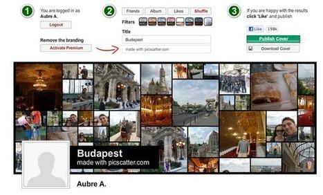 Facebook : comment personnaliser sa Timeline : Créez un photomontage sympa | Papy Mamy Chef | Scoop.it