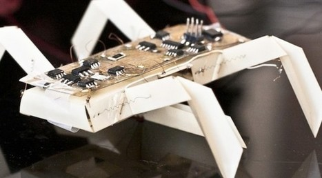 MIT wants you to print your own paper robots | Technoculture | Scoop.it