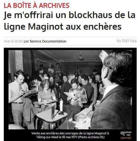 Article du jour (151) : Blochkaus à vendre | CGMA Généalogie | Scoop.it