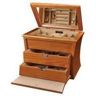 Wooden Jewelry Box | Jewelry Box | Scoop.it