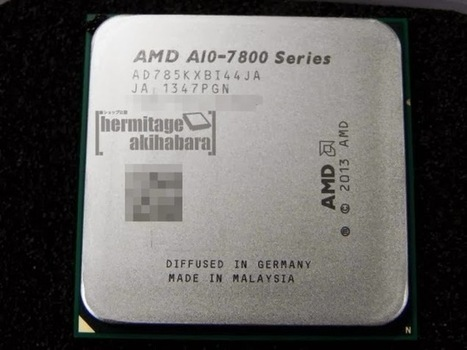 AMD Kaveri APU A10-7850k Engineering Sample Spotted and Benchmarked – CPUZ and GPUZ Screens Leaked | Info-Pc | Hardware | Scoop.it