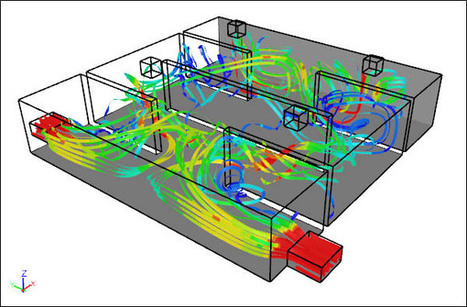 Applying CFD Techniques to Evaluate HVAC Efficiency of Large Buildings | HVAC & Compressors News | Scoop.it