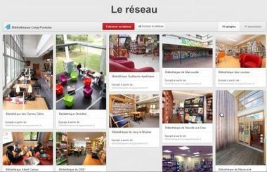7 usages de Pinterest en bibliothèque - Vagabondages | alexfromdijon | Scoop.it