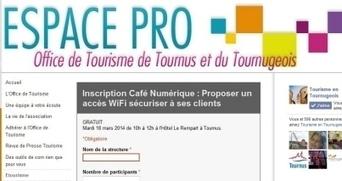 Virage numérique : des ateliers pratiques | Actu Office de Tourisme de Tournus et du Tournugeois | Scoop.it