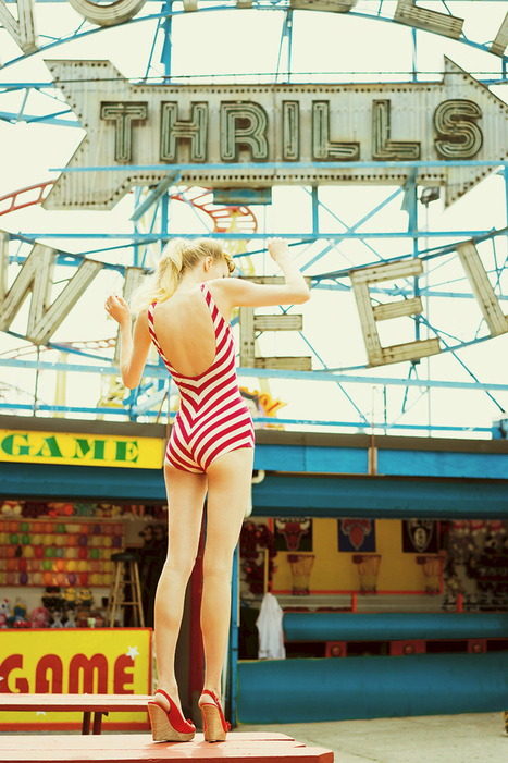 Coney Island Vintage Girl Laura Okita | Rockabilly | Scoop.it