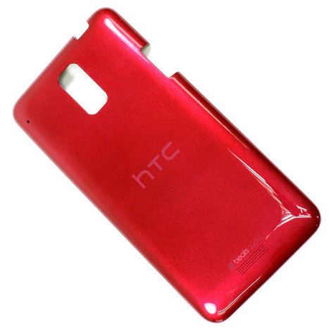 Genuine / Original HTC J Z321e Battery Back Case Door Cover Housing Replacement - Red | HTC Housing Faceplate | Scoop.it