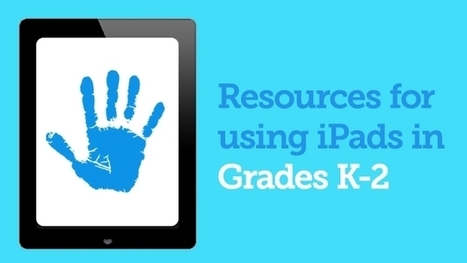 Resources for Using iPads in Grades K-2 | Handy Online Tools for Schools | Scoop.it