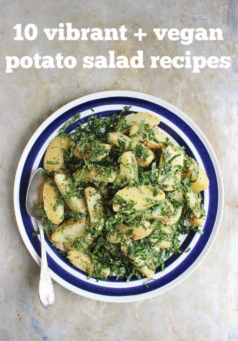 10 Vibrant and Vegan Potato Salad Recipes | My Vegan recipes | Scoop.it
