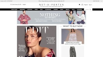 Net-A-Porter solves wardrobe dilemmas with style solutions - Luxury Daily - Internet | Luxury 2.0 - Decoded | Scoop.it