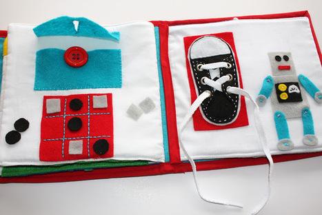 Fabric Cake: Quiet Book | Educación Infantil 0-6 | Scoop.it