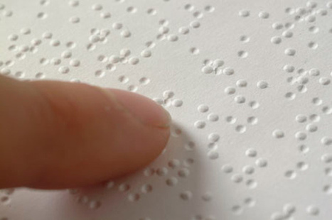 5 examples of Technology for the Blind: Beyond Braille - OpenMind | Science technology and reaserch | Scoop.it