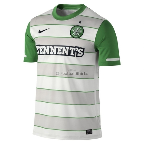 Celtic Grey With White Jersey | CELTIC TEAM JERSEY | Scoop.it