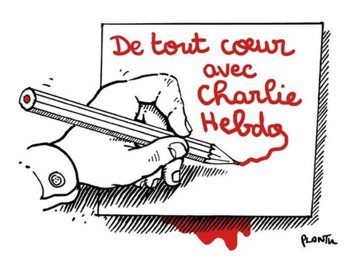 De tout coeur avec Charlie Hebdo   Baie d'humour   Scoop.it