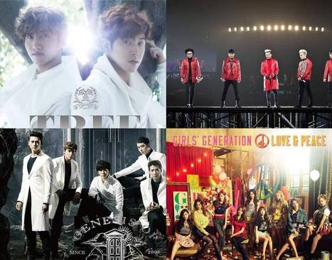 TVXQ, Super Junior, Big Bang, Girls' Generation, and 2PM rank in the Top 50 on ... - allkpop | tvxq | Scoop.it