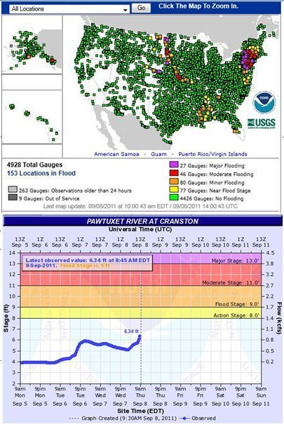 Advanced Hydrologic Prediction Service | AP Human Geography Education | Scoop.it