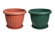 Elba plastic pots,planters,containers,goverhorticulture,india,stainless steel | Stainless Steel Planters is the best planter for gardening | Scoop.it