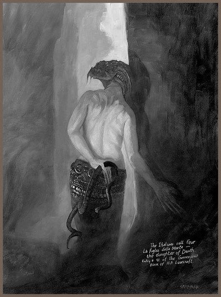 "Rick Sardinha, ""lovecraftien par nature"" | Inspiration Rôlistique | Scoop.it"