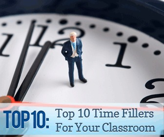 Top 10 Time Fillers For Your Classroom | E.S.A Online | Scoop.it