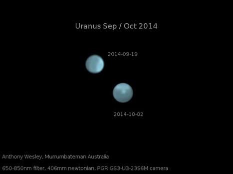 Des tempêtes monstrueuses sur Uranus | The Blog's Revue by OlivierSC | Scoop.it