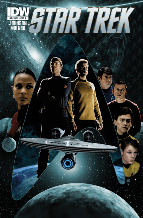 Star Trek Movie Universe To Be Ongoing Comic Book Series From IDW [Background] | Transmedia: Storytelling for the Digital Age | Scoop.it