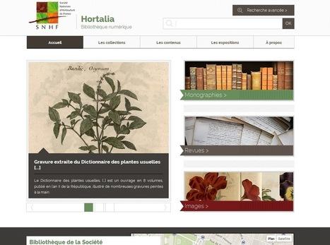 Hortalia : bibliothèque numérique de la Société Nationale d ... | Livres numériques en bibliothèque | Scoop.it
