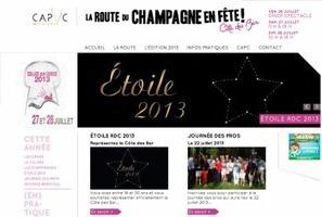Un nouveau site web pour la Route du Champagne | Talky Walky - Vins et spiritueux | La Route du Champagne en Fête (@Route_Champagne | Scoop.it