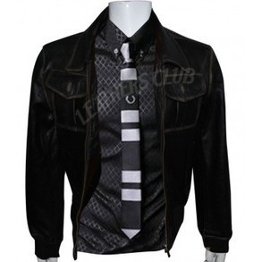 Sheriff Graham Once Upon A Time Movie leather Jacket   Men's Leather Jackets   Scoop.it