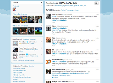 Las redes sociales también reflejan la protesta contra el Gobierno - iProfesional - iprofesional.com (Comunicado de prensa) | Periodismo realizado por ciudadanos | Scoop.it