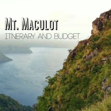 Mt. Maculot | Itinerary and Budget - Weekend Sidetrip | Philippine Travel | Scoop.it