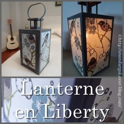 [Coup de ♥] Lanterne en Liberty par StefetsaBelette sur le #CDB | Best of coin des bricoleurs | Scoop.it