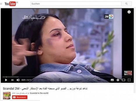 Moroccan TV 'sorry' for makeup tips to hide domestic violence | Criminology, Law and Justice | Scoop.it