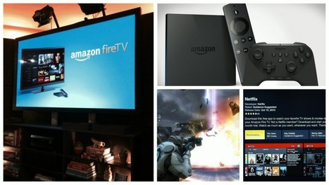 Amazon Launches Fire TV Set-Top Box Integrated With Gaming Console - TechWaq.com   Unique Technology   Scoop.it