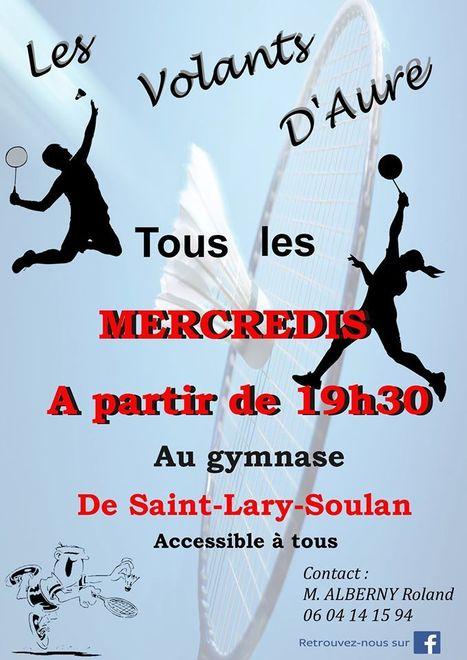 Badminton à Saint-Lary tous les mercredi | Vallée d'Aure - Pyrénées | Scoop.it
