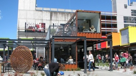 Shopping Mall in Christchurch | Students designing shipping container housing | Scoop.it