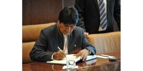 Evo Morales annonce qu'il n'a pas pu voir Hugo Chavez à Caracas | Venezuela | Scoop.it