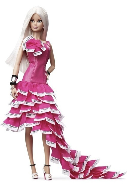 PANTONE Barbie In Her Signature Pink - DesignTAXI.com | Barbie's Body: Art, Fashion & Jewellery | Scoop.it