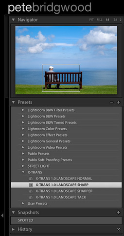 SHARPENING X-TRANS FILES IN ADOBE LIGHTROOM | Fuji News and Gear | Scoop.it